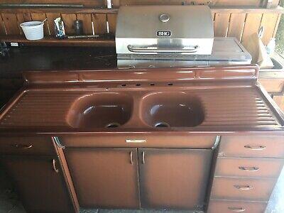 sinks vintage drain board