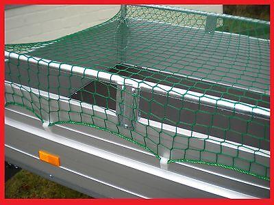 Anhängernetz Abdecknetz Container 2,5 x 1,5 m knotenlos 45mm Maschen