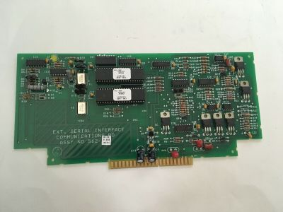 Simplex 562-793 (Rev K) Fire Alarm 4100 External Serial Interface Comm Board