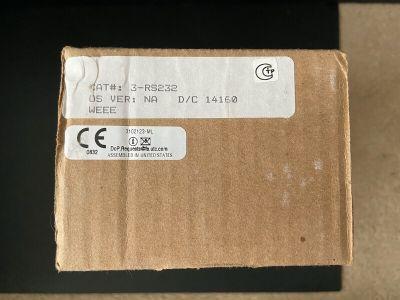 *NIB* *New* EST Edwards 3-RS232 Fire Alarm Control Panel Printer Card