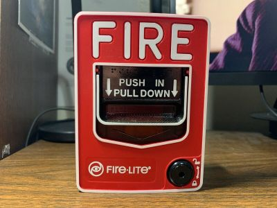 Fire-Lite BG-12 Fire Alarm Pull Station Notifier Honeywell