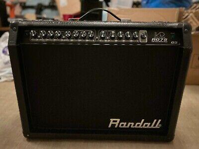 Randall RG75 G3 Hybrid Valve / Solid State 75 Watt Electric Guitar Amplifier