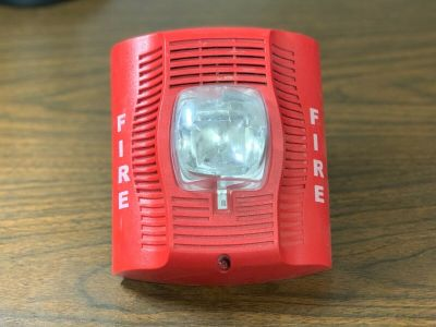 System Sensor SPSR Fire Alarm Speaker/Strobe Wall Red (No Mounting Bracket)