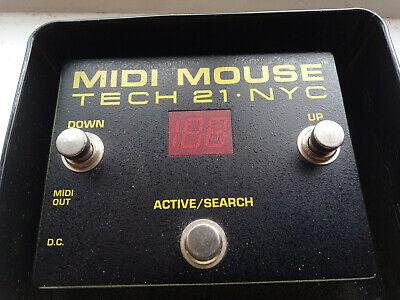 Tech 21 Midi Mouse Pedal with tin and in good condition.