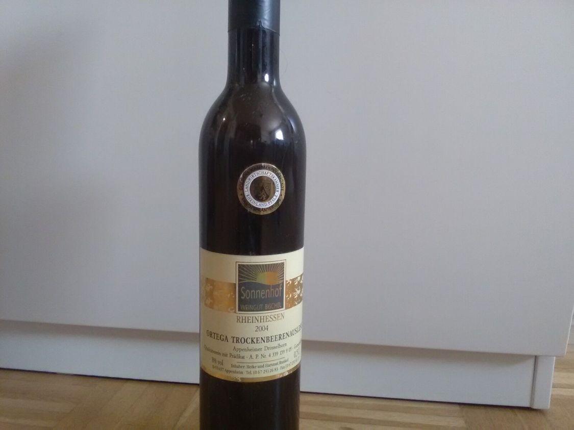 Ortega,Trockenbeerenauslese, 2004, 8%Alc., Dessertwein,Gutsabfüllung, Goldmedail