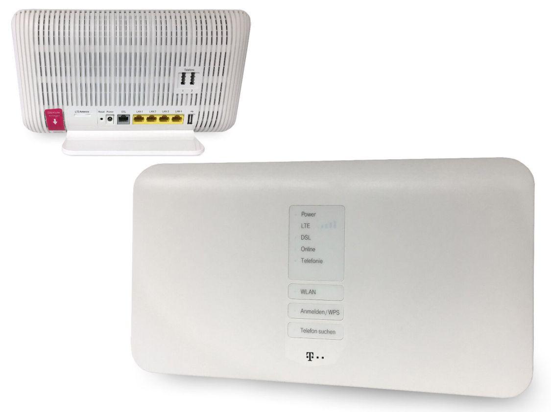 T-Mobile Speedport Hybrid 1300 Mbps 4-Port Wi-Fi 802.11ac Router (40275352) WLAN