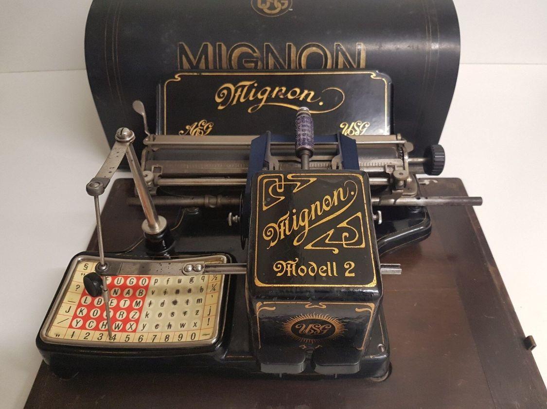 AEG MIGNON 2 Schreibmaschine / Typewriter / Maquina de Escribir