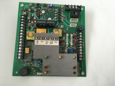 Monaco Enterprises ME Vulcan 176-129-00 Fire Alarm Control Panel Board