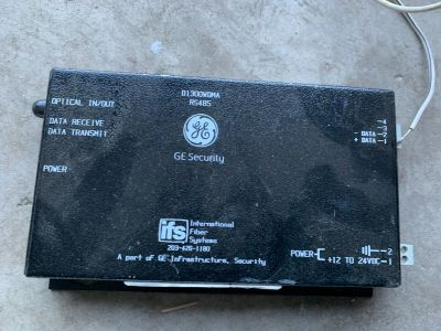 GE Security International Fiber Systems D1300WDMA RS485