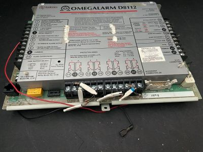 Radionics OmegAlarm D8112 Fire Alarm Security Control Module