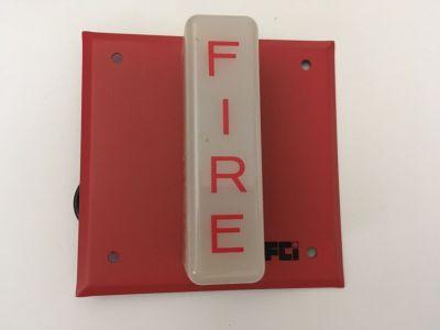 *NIB* *New* FCI SL Fire Alarm Remote Strobe *Rare* *Vintage*