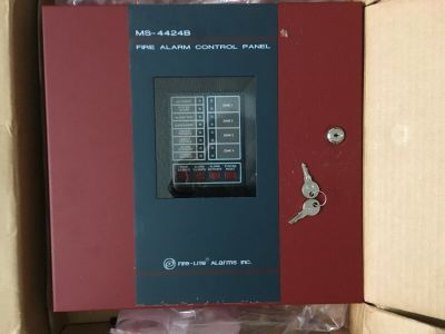 *NIB* *New* Fire-Lite MS-4424B Fire Alarm Control Panel