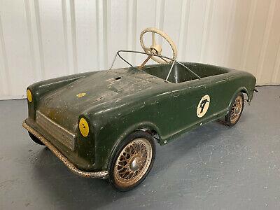 Rare MG MIDGET Barn Find Pedal Car Automobilia