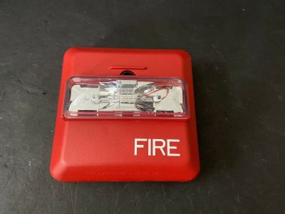Wheelock ZNS-24MCW Fire Alarm Horn/Strobe Wall Red