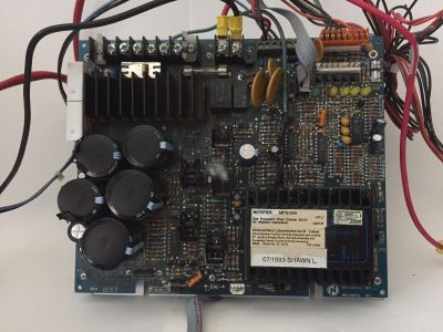 Notifier MPS-24A Fire Alarm Power Supply Board for AFP-101, AN-2020, System 5000