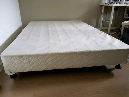 Double Bed Base Free Sealy Mattress