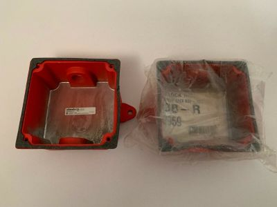 *NIB* *New* *Lot of 2* Wheelock WBB Fire Alarm Outdoor Weatherproof Backbox
