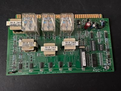 Siemens ASC-1 Fire Alarm Module Board Card 580-196308-3 315-091263
