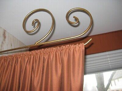 metal swing arm curtain rods