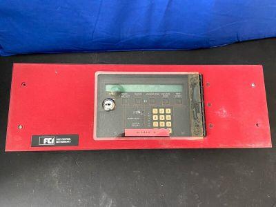 Gamewell FCI KDU-L 7200 Fire Alarm Control Panel Annunciator w/ Red Enclosure