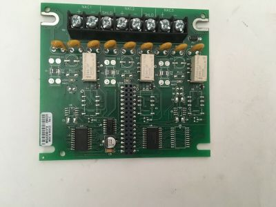 Simplex 566-220 (Rev C) Fire Alarm NAC Expansion Board 4100 Control Panel