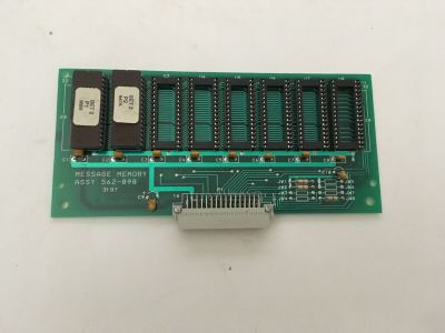 Simplex 562-898 (Rev B) Fire Alarm Memory Message Assembly Board