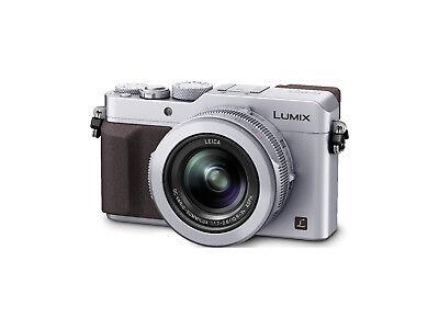 Panasonic DMC-LX100EGS Premium Kompaktkamera DMC LX 100 silber