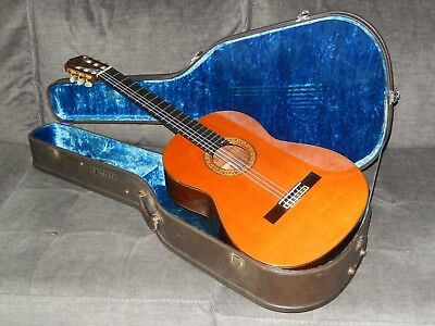 MADE IN 1975 BY TOSHIHIRO KATO MAGNIFICENT YAMAHA GC15S CLASSICAL CONCERT GUITAR