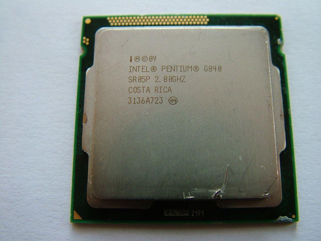 Intel Pentium G840 Prozessor  Dual Core 2,8 GHz Sockel 1155