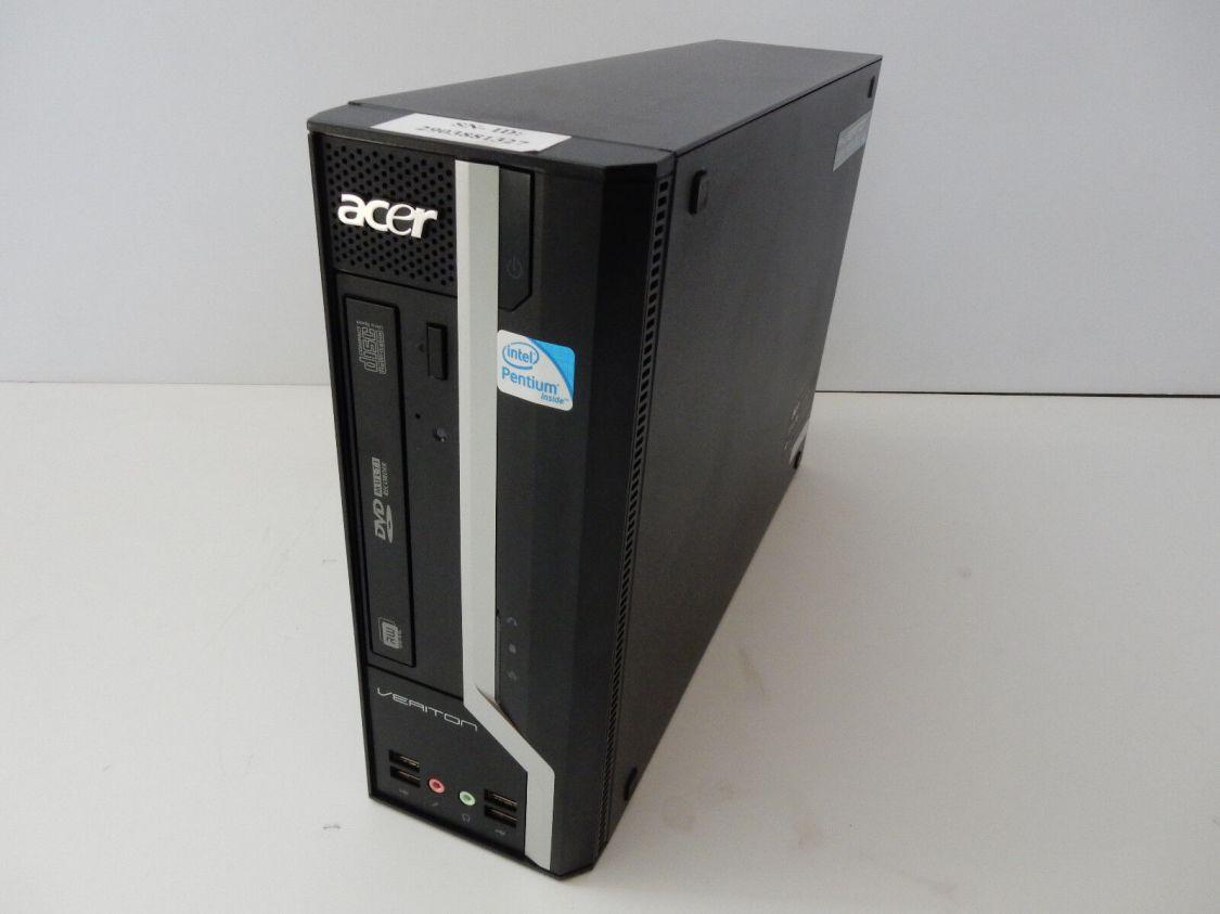 Acer Veriton X480G X 480 G DESKTOP PC Computer ohne Festplatte Wie NEU