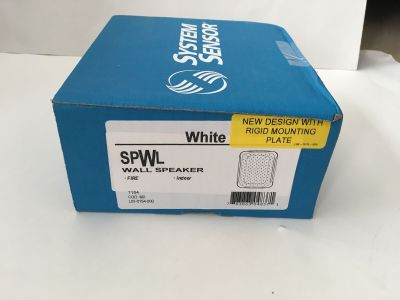 *NIB* *New* System Sensor SPWL Fire Alarm Speaker White
