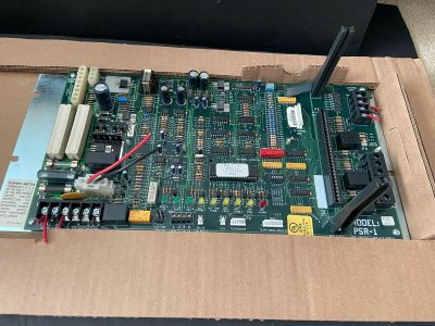 Siemens Cerberus Pyrotronics PSR-1 Fire Alarm Remote Power Supply Board