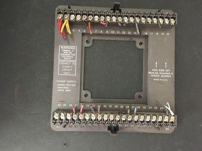 Staefa 488-60010-01 SM2-DDC Smart II V2.2 Controller Board Wire Module