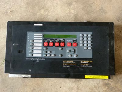 Simplex 4100-7150 Fire Alarm Control Panel Retrofit Operator Display Assembly