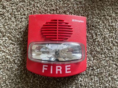 Simplex 4903-9417 TrueAlert Fire Alarm SmartSync Horn/Strobe