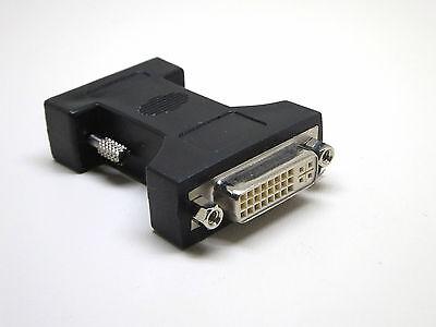 DVI-VGA Computer Adapter, DVI-I (24+5) Buchse auf VGA-Stecker, Monitor PC TFT
