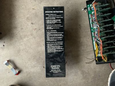 Siemens Cerberus Pyrotronics VM-321 Fire Alarm Voice/Tone Control Panel Card