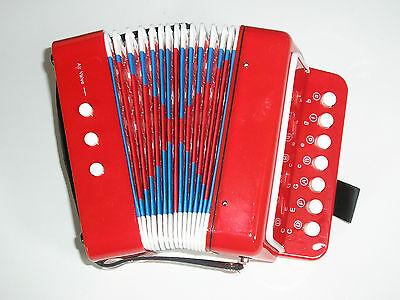 Akkordeon für Kinder Schifferklavier Ziehharmonika Quetsche Kinderakkordeon