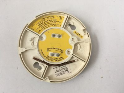 EST Edwards 6251B-001A Fire Alarm Smoke Detector Base