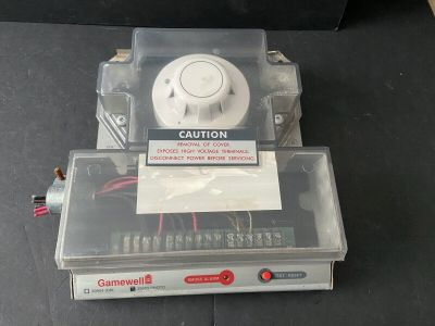Gamewell FCI 30955 Fire Alarm Photoelectric Duct Smoke Detector