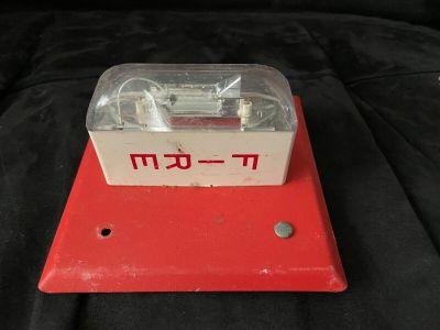 Wheelock LS-24 Fire Alarm Remote Strobe Wall Red
