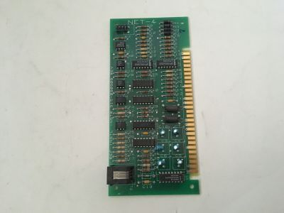 Siemens Cerberus Pyrotronics NET-4 Fire Alarm MXL Communication Network Card