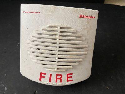 Simplex TrueAlert White Wall-mount Fire Alarm Speaker