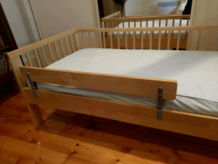 Ikea Gulliver Toddler Child S Bed With Mattress