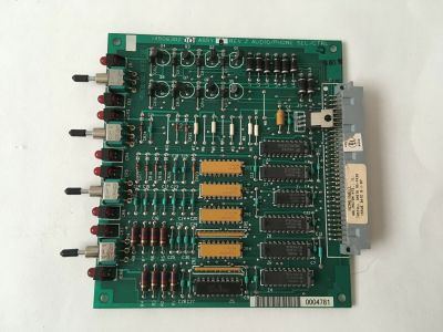 Honeywell 14506302-001 Fire Alarm FS90 FMS Audio Phone Select Control Board
