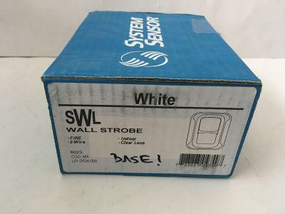 *NIB* *New* System Sensor SWL Fire Alarm Remote Strobe Wall White