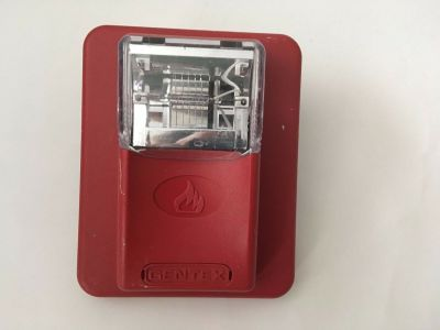Gentex ST24-15/75WR Commander Fire Alarm Remote Strobe Red