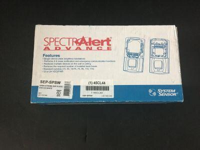 *NIB* *New* System Sensor SEP-SPSW Fire Alarm Speaker Strobe Alert Extender