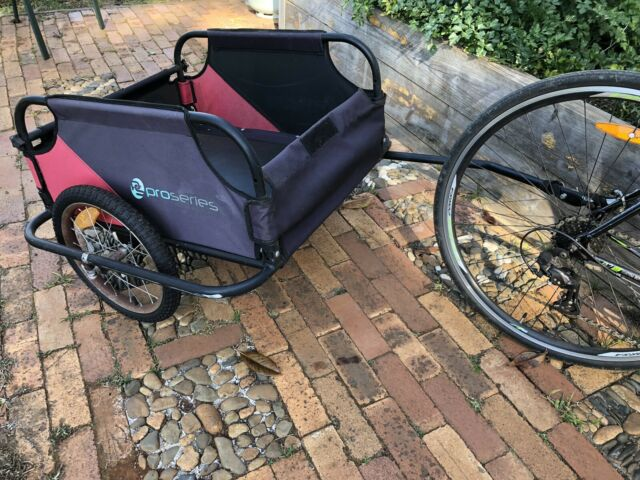 Pro Series Dual Wheel Cargo Storage Bicycle Trailer ...