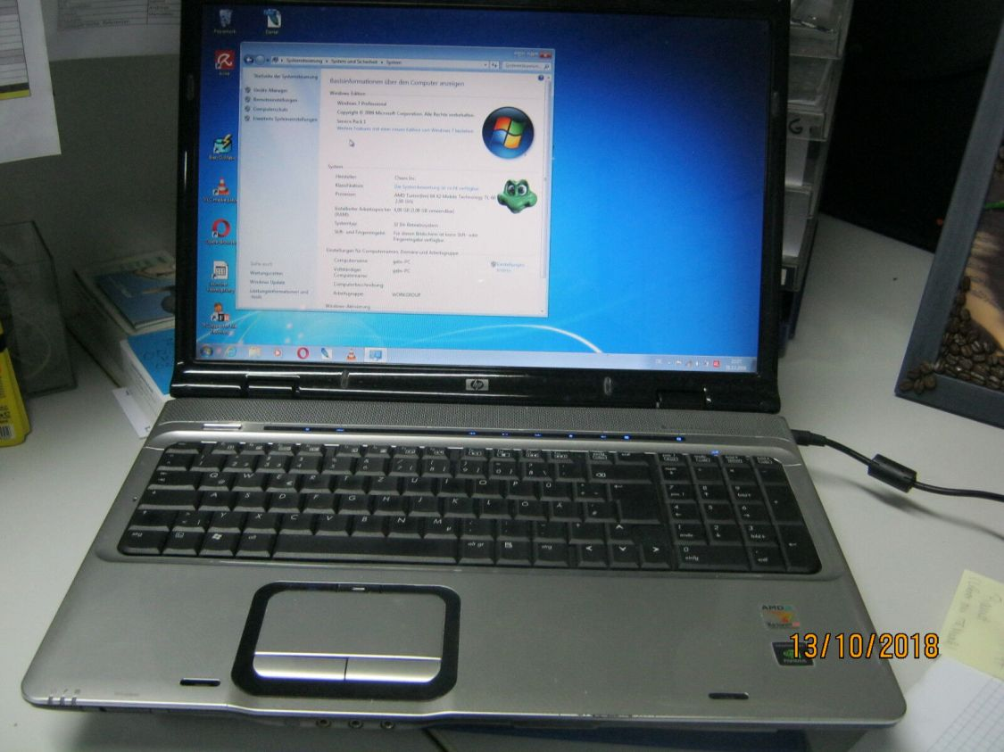 HP Pavilion dv9000 17 Zoll Notebook/Laptop 250GB Speicher 4 GB RAM